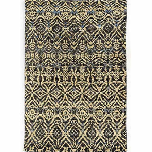 Tommy Bahama Area Rugs Ansley 50904 Black and Beige Rectangular: 5 Ft. x 8 Ft. Rug