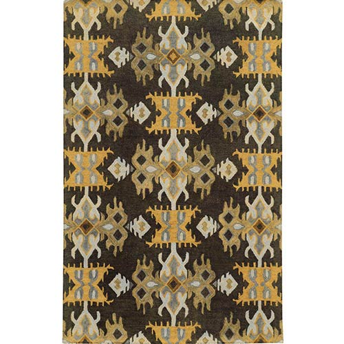 Black Gold Area Rugs Bellacor