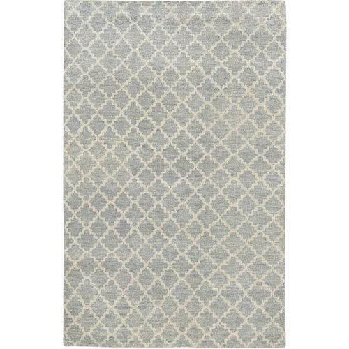 Tommy Bahama Area Rugs Maddox 56501 Blue and Beige Rectangular: 5 Ft. x 8 Ft. Rug
