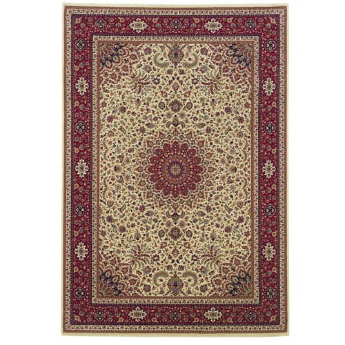 Oriental Weavers Ariana Ivory Rectangle: 5 ft. 3 in. x 7 ft. 9 in. Rug