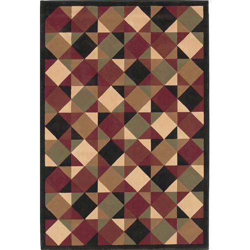 Oriental Weavers Genre Brown Rectangle: 5 ft. 3 in. x 7 ft. 9 in. Rug