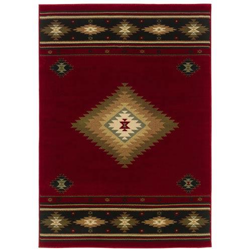 Oriental Weavers Hudson Rectangular: 5 Ft. 3 In. x 7 Ft. 6 In. Rug