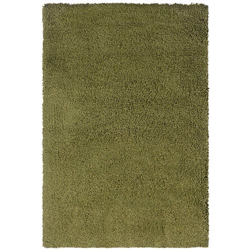 Oriental Weavers Loft Green Rectangular: 5 Ft. 3 In. x 7 Ft. 9 In. Rug