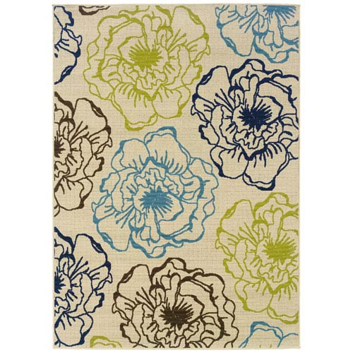 Oriental Weavers Caspian Rectangular: 5 Ft. 3 In. x 7 Ft. 6 In. Rug