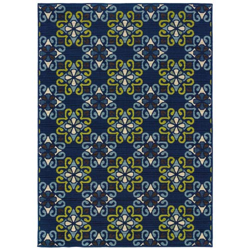 Oriental Weavers Caspian Rectangular: 5 Ft. 3 In. x 7 Ft. 6 In. Rug