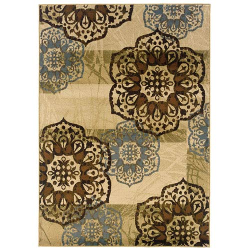 Oriental Weavers Hudson Rectangular: 5 Ft. 3 In. x 7 Ft. 6 In. Rug