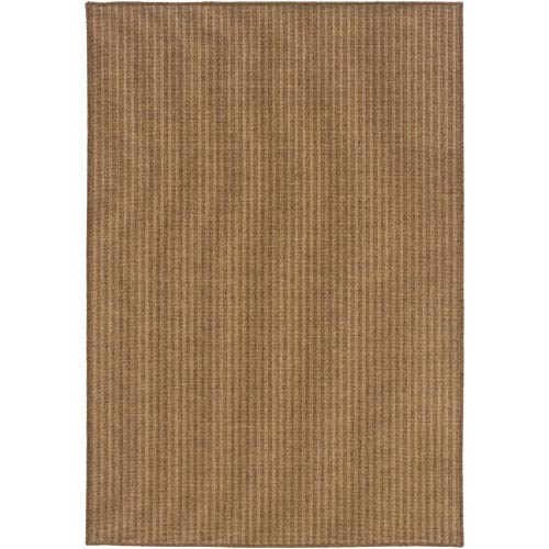 Karavia Tan Vertical Rectangular: 5 Ft. 3 In. x 7 Ft. 6 In. Rug