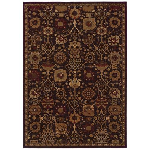 Oriental Weavers Cambridge Brown Rectangular: 5 Ft. 3 In. x 7 Ft. 6 In. Rug