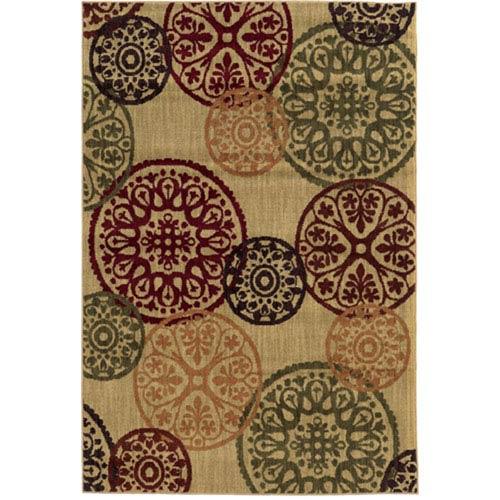 Oriental Weavers Aston Multicolor Runner: 2 Ft. x 8 Ft.