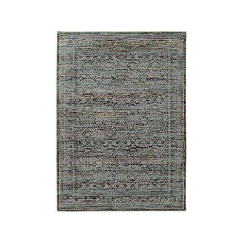 Oriental Weavers Andorra Blue Rectangular: 1 Ft. 10-Inch x 3 Ft. 2-Inch  Rug