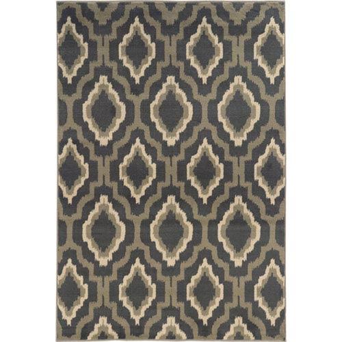 Oriental Weavers Brentwood Charcoal Rectangular: 2 Ft. x 3 Ft. Rug