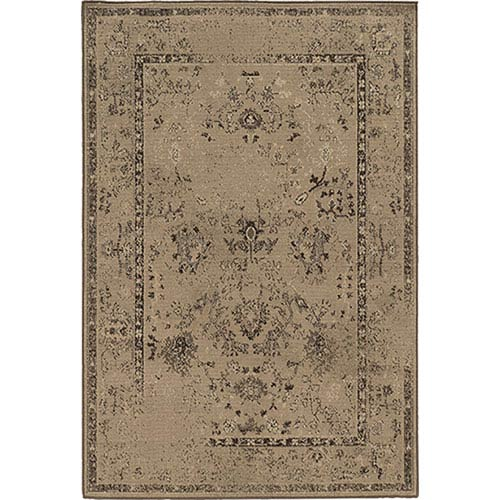 Oriental Weavers Chloe Tan Runner: 1 Ft. 10-Inch x 7 Ft. 6-Inch