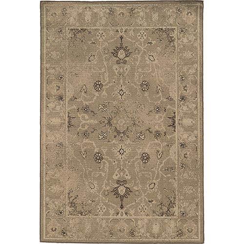 Oriental Weavers Chloe Tan Runner: 1 Ft. 10-Inch x 7 Ft. 6-Inch