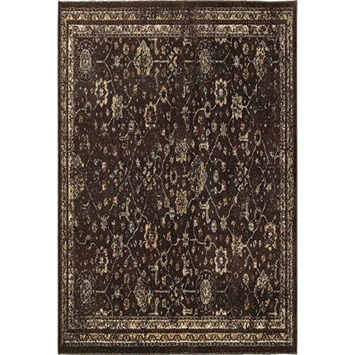 Empire Brown Runner: 2 Ft. 3-Inch x 7 Ft. 6-Inch