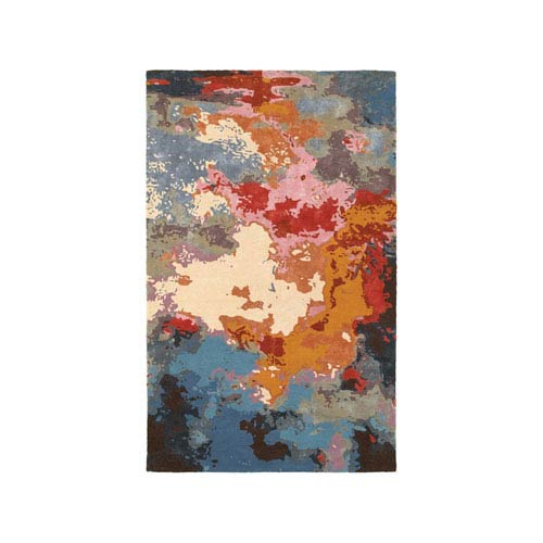 Galaxy Multicolor Runner: 2 Ft. 6-Inch x 8 Ft.