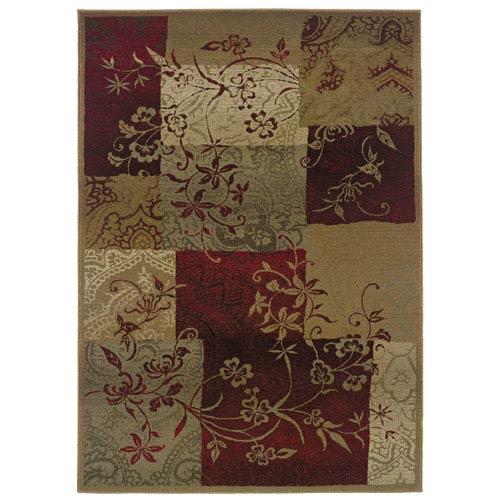 Oriental Weavers Genesis Beige Rectangular: 5 ft. 3 in. x 7 ft. 6 in. Rug