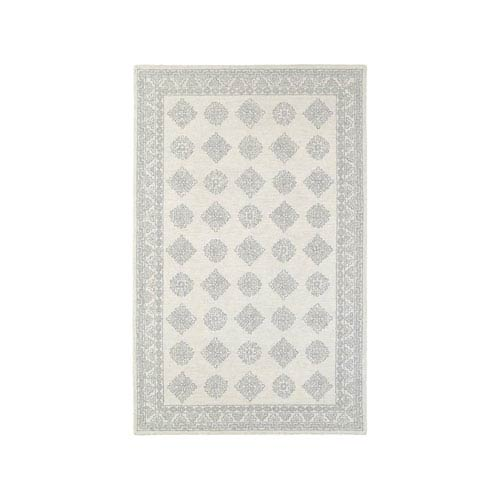 Oriental Weavers Manor Gray Runner: 2 Ft. 6-Inch x 8 Ft.