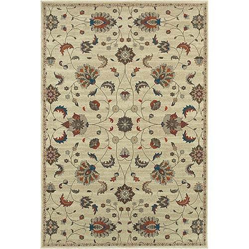 Oriental Weavers Pasha Beige Rectangular: 1 Ft. 10-Inch x 3 Ft.  Rug