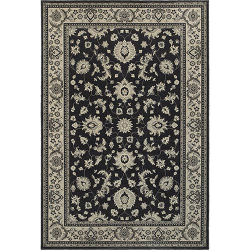 Richmond Charcoal Round: 7 Ft. 10-Inch  Rug