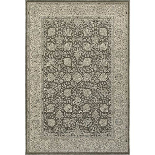 Richmond Brown Round: 7 Ft. 10-Inch  Rug
