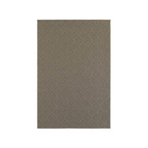 Oriental Weavers Santa Rosa Gray Runner: 1 Ft. 10-Inch x 7 Ft. 6-Inch