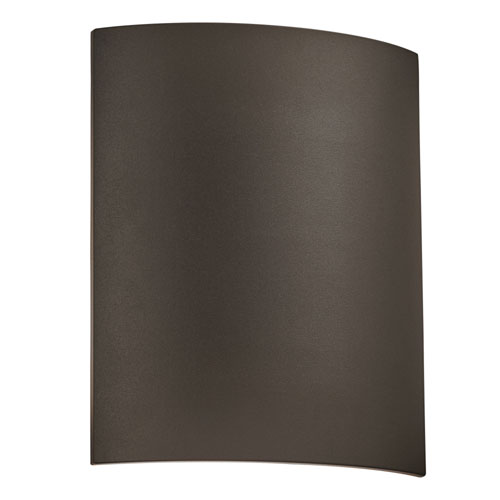 PLC Lighting Eclipse Bronze One-Light ADA Outdoor Wall Mount