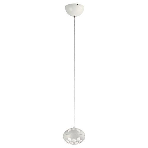 PLC Lighting Rosini White LED Mini Pendant