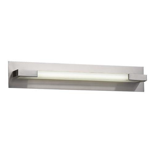 Polis Satin Nickel 27-Inch LED Vanity