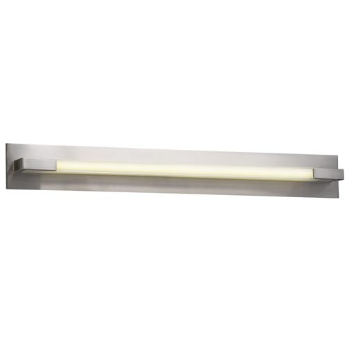 Polis Satin Nickel 39-Inch LED Vanity