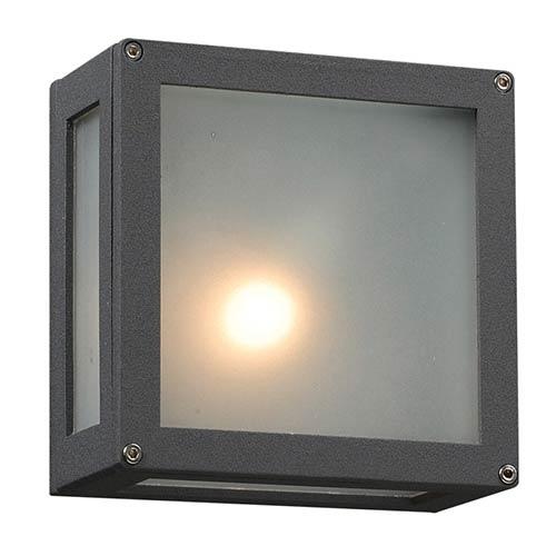 PLC Lighting Bandero Bronze One-Light Outdoor Wall Mount Fixture