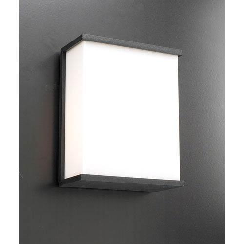 PLC Lighting Pinero One-Light Bronze Outdoor Wall Light