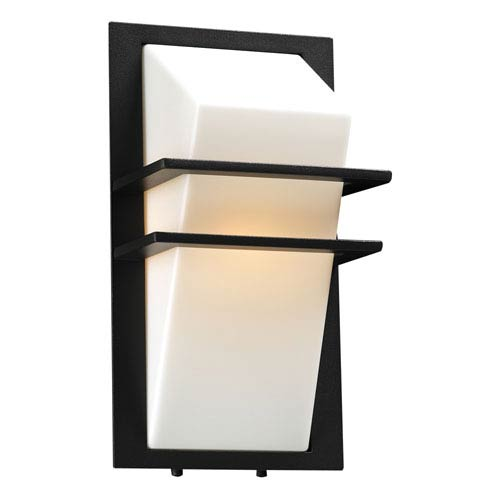 PLC Lighting Juventus One-Light Bronze Outdoor Wall Light