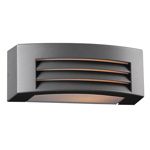 Luciano Bronze One-Light Outdoor Wall Mount Fixture