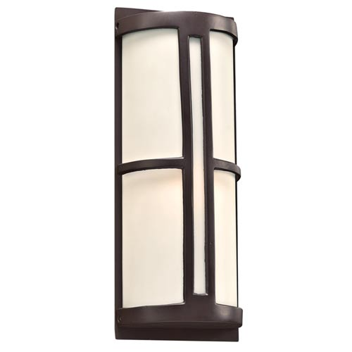Rox Oil Rubbed Bronze 7-Inch LED Outdoor Wall Lantern