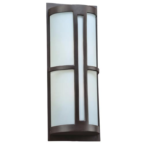 Rox Oil Rubbed Bronze 9-Inch LED Outdoor Wall Lantern