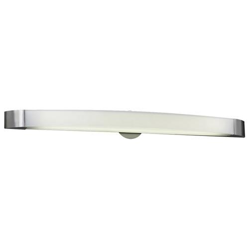PLC Lighting Delaney Satin Nickel 41-Inch LED Vanity