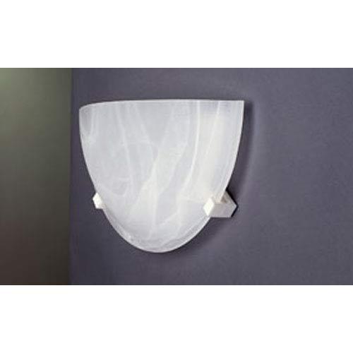 PLC Lighting Nuova White Wall Sconce
