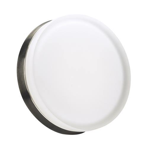 PLC Lighting Metz Satin Nickel 11-Inch LED Wall Sconce