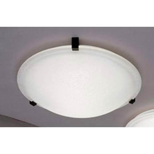 Plc Lighting Nuova Black Extra Large Flush Mount Ceiling Light