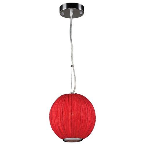 Sidney One-Light Red Pendant