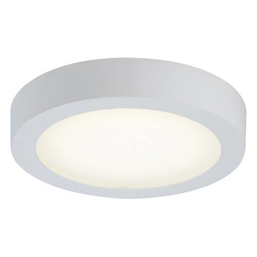Float White 9-Inch Energy Star LED Flush Mount