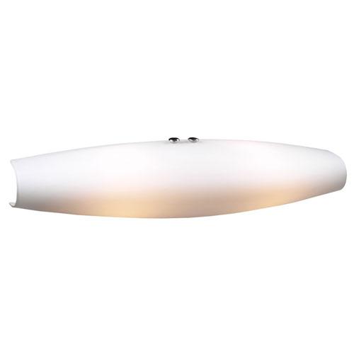 PLC Lighting Julian-II Two-Light Polished Chrome Sconce with Matte Opal Glass