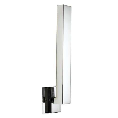 Teton Polished Chrome LED Five-Light Wall Sconce