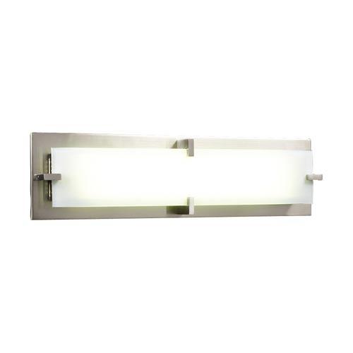 Polipo/T5 Satin Nickel 27-Inch LED Vanity