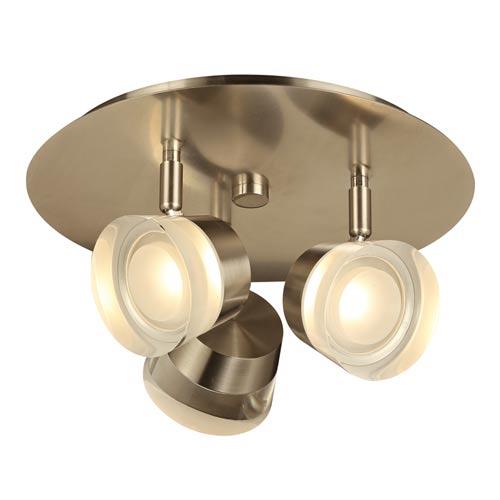 Sitra Satin Nickel 12-Inch LED Vanity