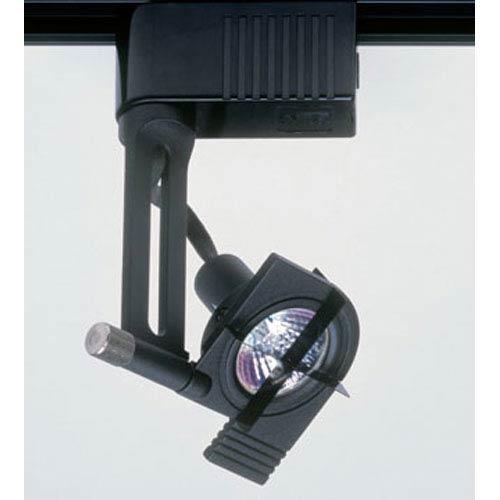 PLC Lighting Target One-Light Black Track Fixture
