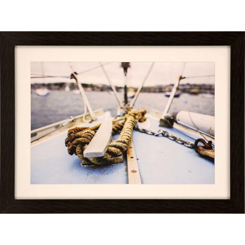 Libby Langdon Sag Harbor Sail 2 Multicolor Framed Wall Art