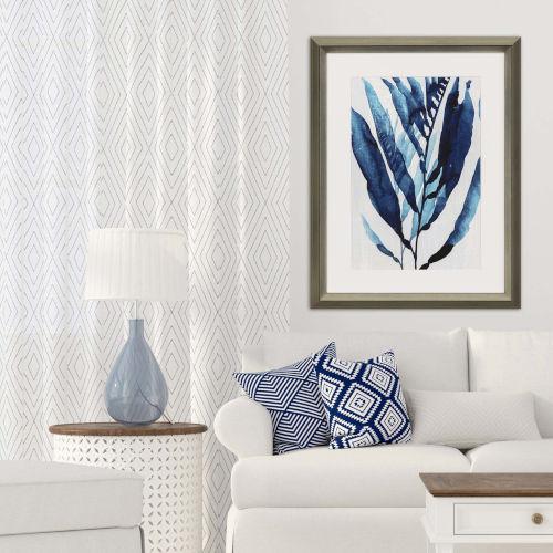 Blue Blue Drift I Framed Art