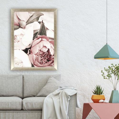 Pink Opulent I Framed Art