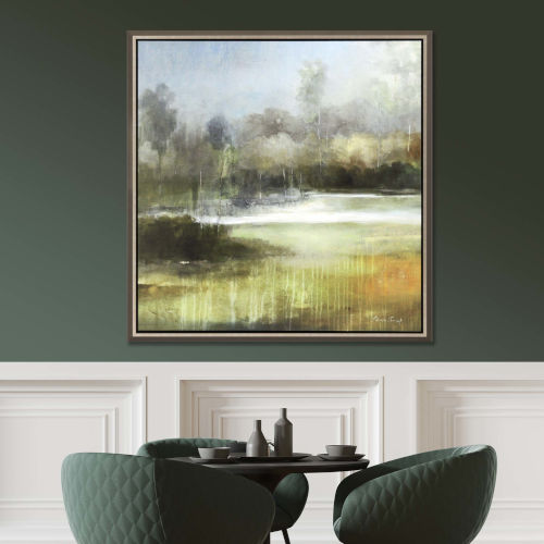 Green 46 H x 44 W-Inch A Quiet Place Wall Art